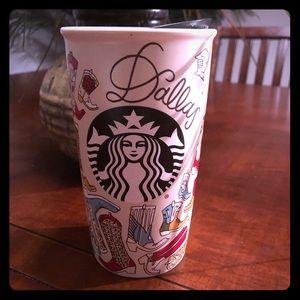 Starbucks Dallas travel tumbler